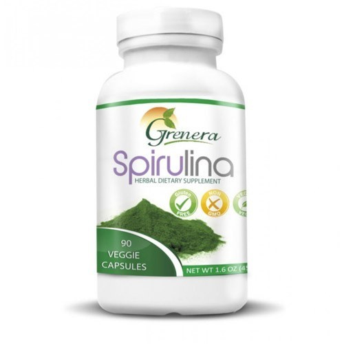 Grenera Spirulina Capsule, 90 Capsules