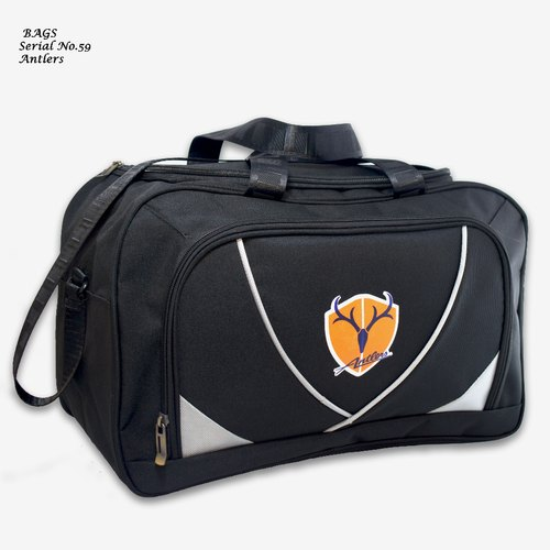 Black Polyester Promotional Bags
