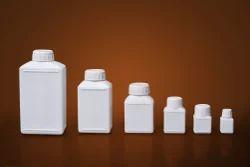 Rectangular HDPE Plastic Bottle