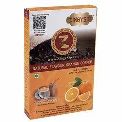 Zingysip Natural Orange Coffee (100 gm ) - Serve Hot Or Cold