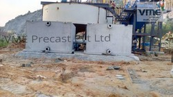 Industrial Waste Water Treatment Tanks