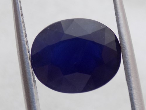 TCW 7 /& 8 925 Details about  /Kanchanaburi Blue Sapphire Oval /& Round Band Ring 0.85 Sizes 5