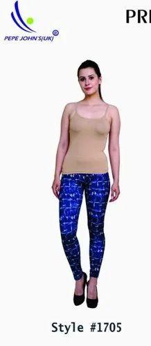 63d8199629af2 Formal Wear Ladies Printed Leggings Wholesale, Rs 199 /piece | ID ...