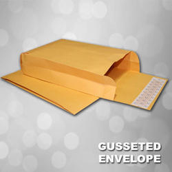 Gusseted Paper Envelope