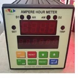 Ampere Hour Minute Meter with Totaliser & 2 Doser Control Relays For Additive And Brightner Addition