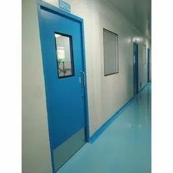 Excellent Prefab Iron Scientific Clean Room Doors