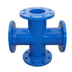 Ductile Iron All Flanged Cross Tee