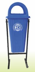 King International Hut Shape with Fiber Litter Bin