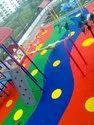 Rubber Kids Playground Flooring