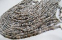 Multi Moonstone AB Mystic Coated Rondelle Faceted Bead