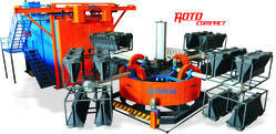 Roto Compact - 4 Arms Machine for Plastic Road Barrier