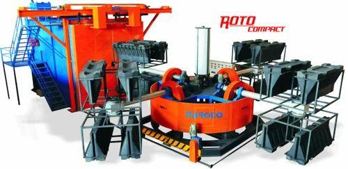 Rotomoulding Machine And Plastic water tank Machine-NA Roto