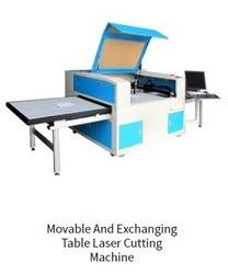 Movable and Exchanging Table Laser Cutting Machine