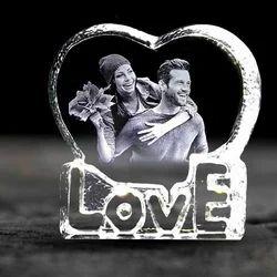 GONDGET Valentine Day Gift 3D Crystal