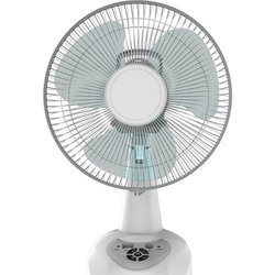 DC 12 Inch Table Fan with Oscillation
