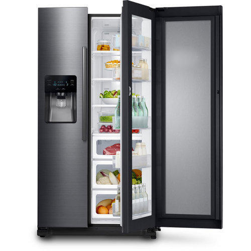 553e4892a Samsung Side By Side Refrigerator at Rs 100000  piece