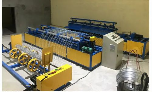 3 HP Automatic MS Chain Link Machine