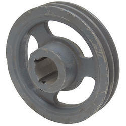 2 Groove Cast Iron Belt Pulley