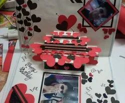 Art Paper Handmade Cards, Size: Up To A4