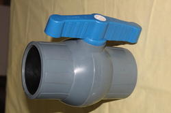 Solid PVC Ball Valve