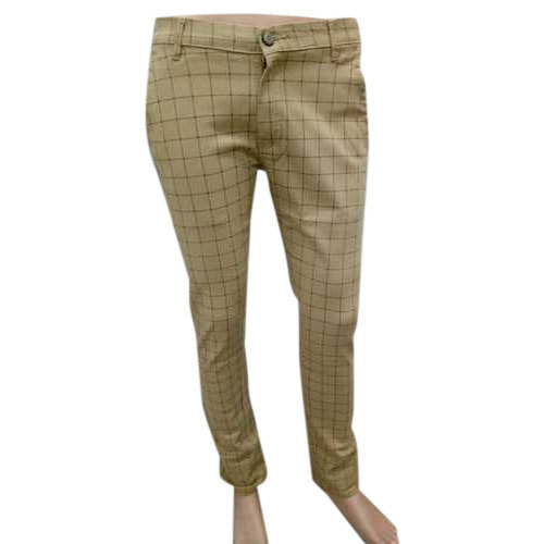 62079241a8d5de Mens Cotton Check Pant, Rs 380 /piece, Jain Clothing Co. (India ...
