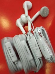 White Mobile Oppo Vivo Earphone