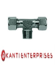 Single Ferrule Tee Fittings (DIN 2353)