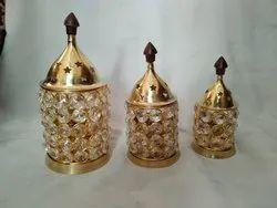 Akhand Deep Crystal Diya
