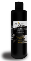 Aroma Blush Black Activated Bamboo Charcoal Face Wash, Age Group: Adults, Packaging Size: 500ml