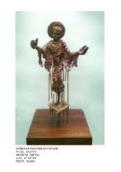 Brass Matel Antique Sculpture, Size: 10 Up To 12 Inches
