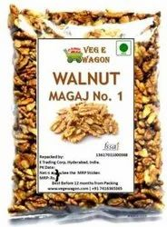 Veg E Wagon Walnut Kernel (Magaj) 1000 Gm Walnuts (1000 g, Pouch)
