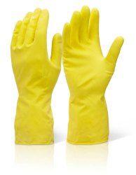 Rubber Hand Gloves - Light Duty