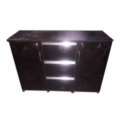 Raj Furnitures Rectangular 3 Drawer Wooden Office Table, Size: 4X2 feet