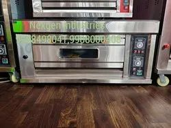 Stainless steel gas/ electrical pizza oven