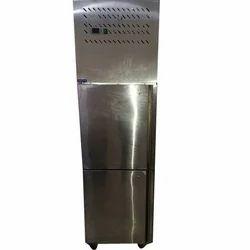 Stainless Steel Two Door Vertical Chiller, Door Types: Double Door, Capacity (in Litres): 500 L