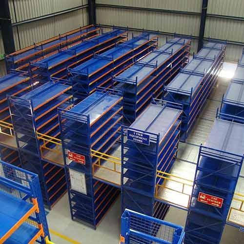 MILD STEEL Multi Tier Racking, For Warehouse, 500x400x1500 mm