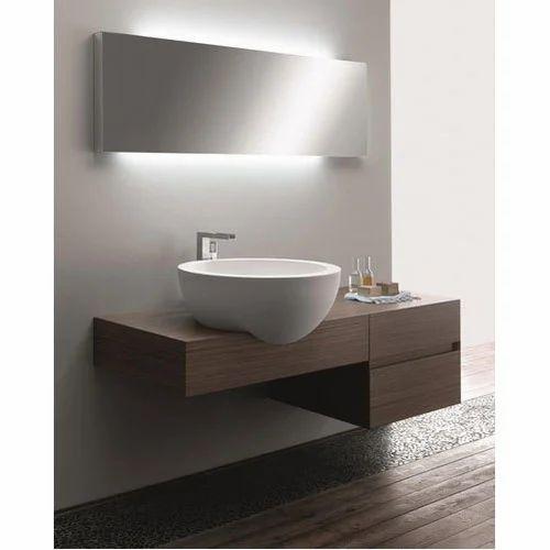 Brown Pvc Modern Vanity Unit Rs 15000 Piece Panel Craft