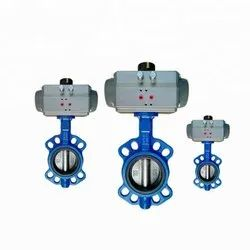 Pneumatic Actuated Lug Butterfly Valve