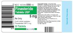 Finasteride Tablets, 5 Mg