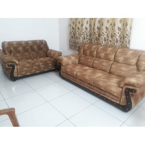 Leather 5 Seater Sofa Set For Home Rs