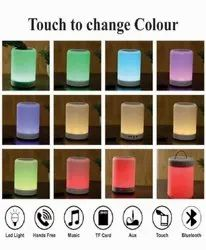 PNX White Personalized Bluetooth Speaker with LED Light