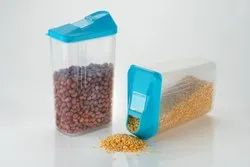 Plastic Food  Storage Easy Flow Container - 750 ML