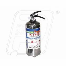 Fire Extinguisher 2 KG K Type Stainless Steel