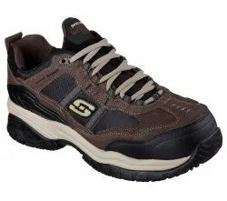 SKECHERS SAFETY SHOES 77013 BRBK Composite Toe