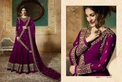251c81e256 Thankar Designer Suit with Pari Silk with Coding & ChainStich ...