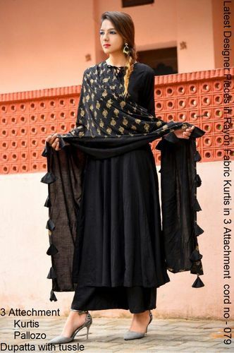 7a1f85c00387 Full Ready To Wear Black Designer Dress at Rs 900 /piece | Ladies ...