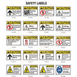 Safety Labels for Construction