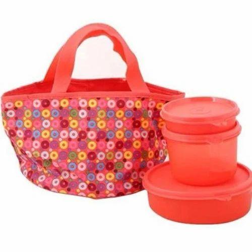 fancy tupperware lunch box set tupperware tiffin box priyam creation delhi id 15267464573. Black Bedroom Furniture Sets. Home Design Ideas