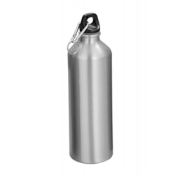 Aluminium Silver Sippers Bottle, For Promotional, Capacity: 550 Ml