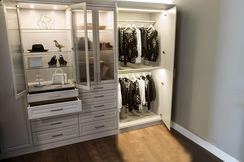 Aluminium Profile Light In Wardrobe